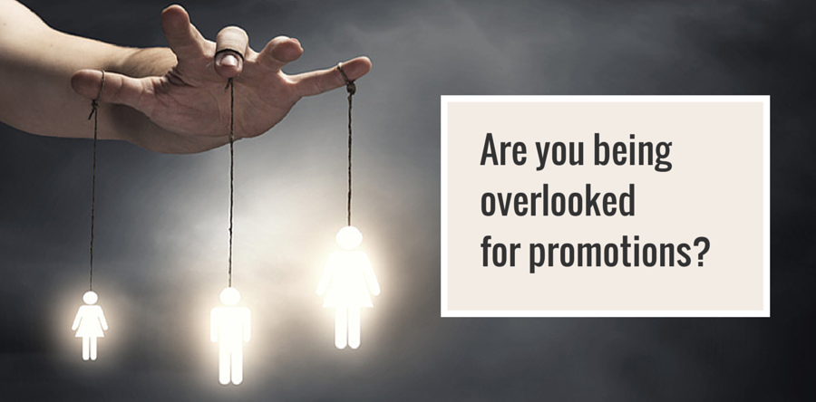 Are you being overlooked for promotions?